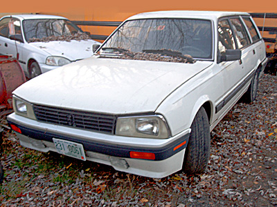 1991 Peugeot 505 Turbo SW8 (Station Wagon)
